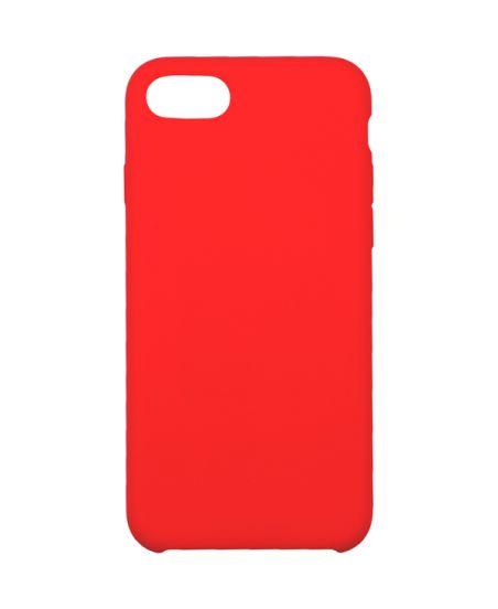 Чехол для iPhone InterStep для iPhone 8 IS SOFT-T METAL ADV красный